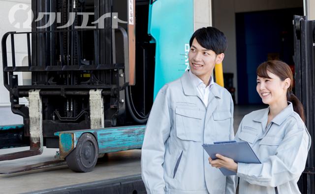 【土日祝休み】レンタル商品の管理・軽作業※フォーク手当アリ!